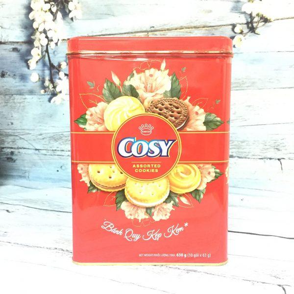 Bánh Cosy Que Kẹp Kem (Hộp Thiếc) 630g