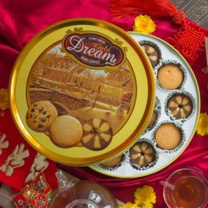 Bánh Cookies Gold Dreams 400g